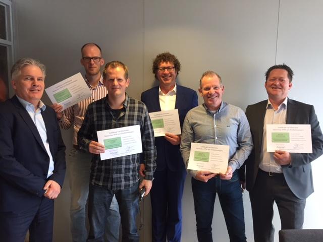 Uitreiking certificate masterclass PPM groep 4
